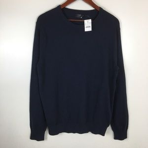 J. Crew Blue Sweater Men's Large